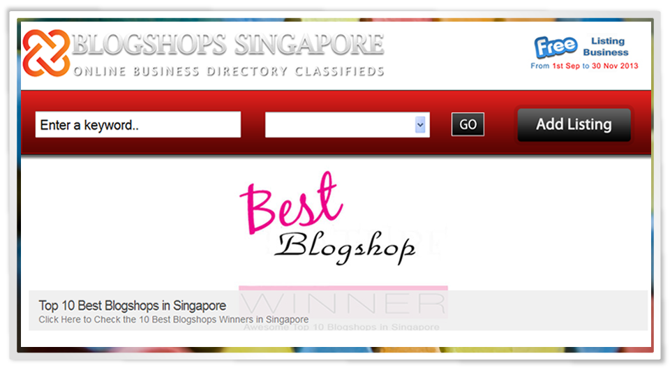 Free Blogshop Review